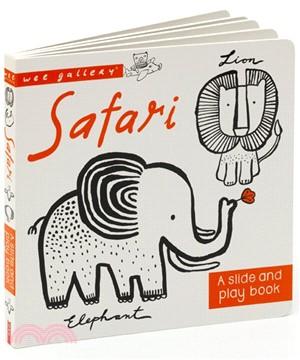 Wee Gallery Board Books: Safari (硬頁推拉書)