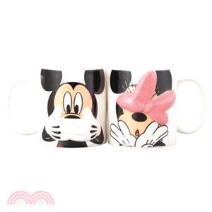 Disney立體對杯-躲貓貓-米奇情侶