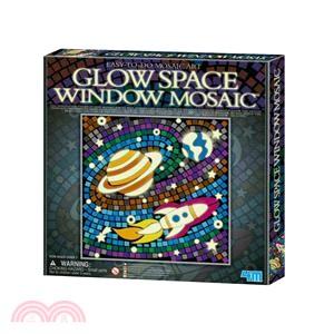 【4M】Space 馬賽克拼圖-螢光系列(太空)