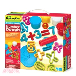 【4M】Number Dough 數字黏土工廠