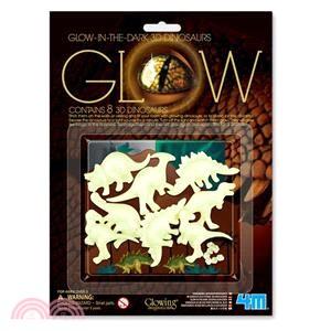 【4M】Glow 3D Dinosaur 3D立體螢光恐龍貼片