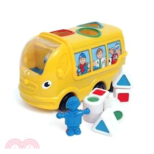 WOW Toys 形狀認知校車 席尼