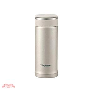 象印 可分解杯蓋真空保溫杯360ml-銀色