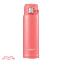 象印 不鏽鋼OneTouch超輕量真空保溫杯480ml-珊瑚粉色