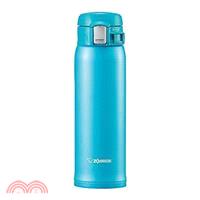 象印 不鏽鋼OneTouch超輕量真空保溫杯480ml-藍色