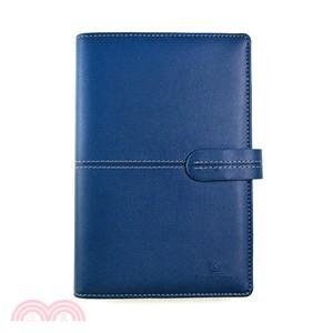 英式典雅A6萬用手冊6孔-藍色