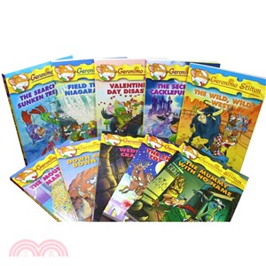 (21-30) Geronimo Stilton 10th Anniversary 10 Books Bundled Set