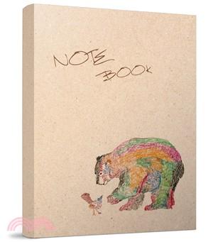 熊與鳥筆記本(彩色版)