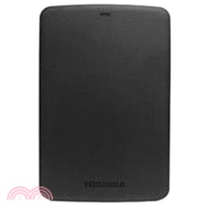 【Toshiba】Canvio BASICS 黑/白靚潮 II 2.5吋行動硬碟-1TB(黑)