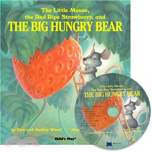 The Little Mouse, The Red Ripe Strawberry and The Big Hungry Bear  (1平裝+1CD)(韓國JY Books版)