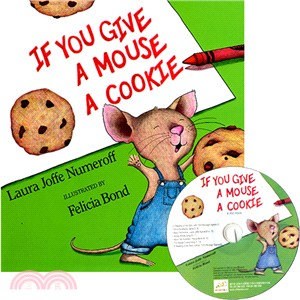 If You Give a Mouse a Cookie (1精裝+1CD)(韓國JY Books版)