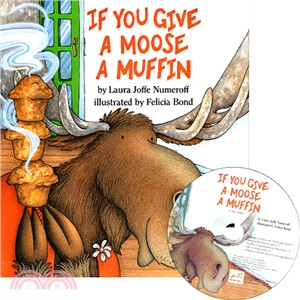 If You Give a Moose a Muffin (1精裝+1CD)(韓國JY Books版)