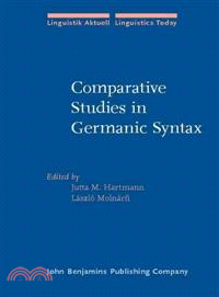 Comparative Studies in Germanic Syntax ― From Afrikaans to Zurich German