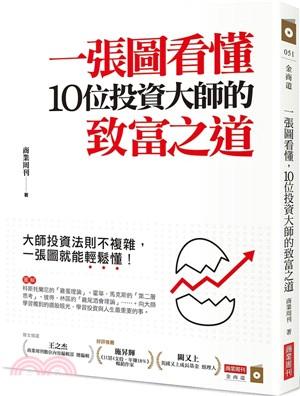 一張圖看懂10位投資大師的致富之道:大師投資法則不複雜,一張圖就能輕鬆懂!