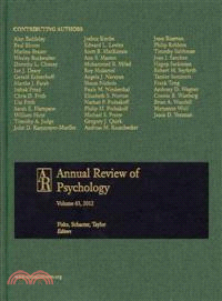Annual Review of Psychology 2012